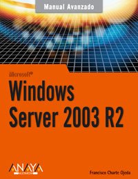 Portada de Manual avanzado Windows Server 2003 R2